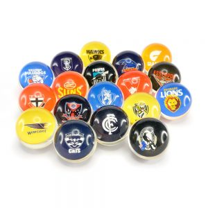 Bouncing Balls 45mm AFL Clear