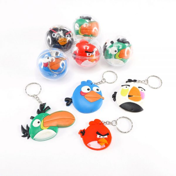 Capsuled Toys 50mm Key Chains Angry Birds