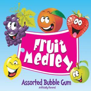 Fruit Medley Bubble Gum